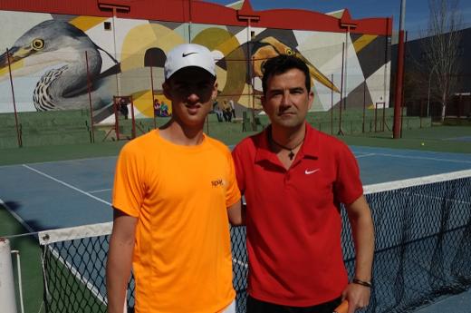 Carlos Alcalde vencedor de la XXIV Liga de Tenis de Mérida