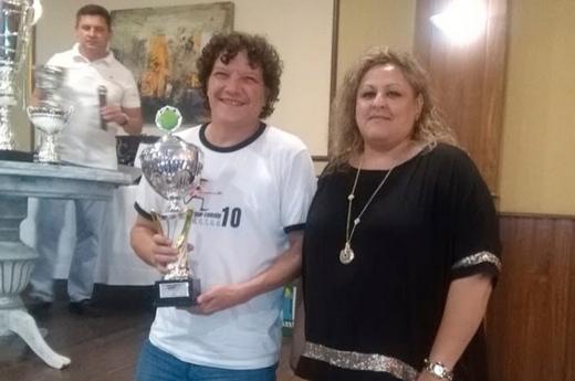 Acto de entrega de trofeos de la Liga Interclubes 2018-2019