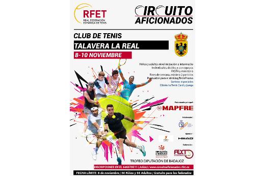 Talavera La Real acoge una nueva prueba del circuito de aficionados de la RFET