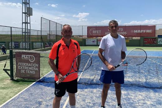 Emilio Leal vence en el Torneo RFET Aficionados +55 de Almendralejo