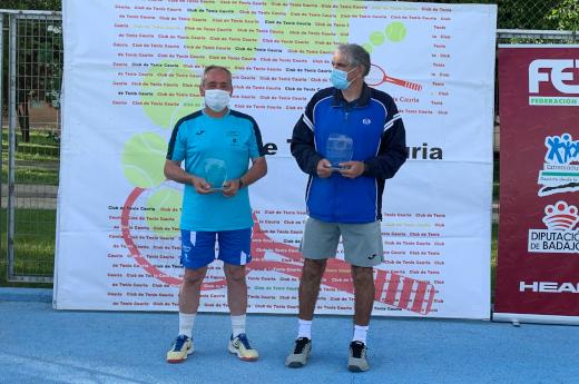 Emilio Leal finalista del Campeonato de Extremadura de veteranos +55